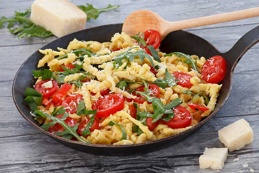 spaetzle-mediterana-parmesan
